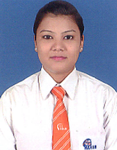 MAHAR student Pooja Thapa is congratulated for being an achiever.