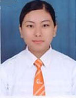 MAHAR student Bhim Kumari Gurung  is congratulated for being an achiever.